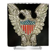 American Metal Eagle Shower Curtain