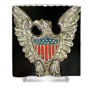 American Metal Eagle Shower Curtain