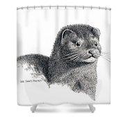 American Mink Shower Curtain