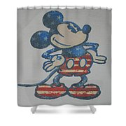 American Mouse Shower Curtain