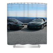 American Muscle Cars Shower Curtain