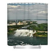 American Niagara Falls #2 Shower Curtain
