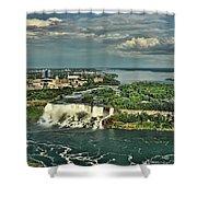 American Niagara Falls  Shower Curtain