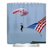 American Parajumper Shower Curtain