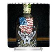 American Pendleton Commemorative Bottle Shower Curtain