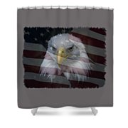 American Pride 2 Shower Curtain