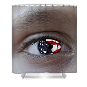American Proud - Stars And Stripes Forever Shower Curtain