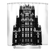 American Radiator Building Shower Curtain