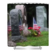 American Reflections Shower Curtain
