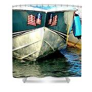 American Sea Spirit Shower Curtain