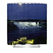 American Side Of Niagara Falls, Seen Shower Curtain