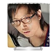 American Songwriter Shower Curtain