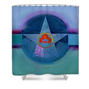 American Spiritual Shower Curtain
