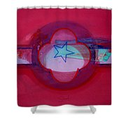 American Star Of The Sea Shower Curtain