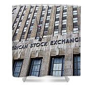 American Stock Exchange Building New York  Shower Curtain