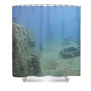 American Tanker Shower Curtain