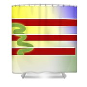 American Tears Shower Curtain