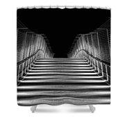 American Tobacco Trail Bridge  Shower Curtain by Ben Shields