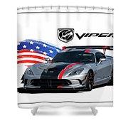 American Venom Shower Curtain