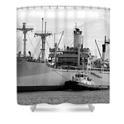 American Victory Coming Home Shower Curtain