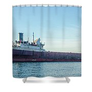 American Victory Off Saint Clair Shower Curtain
