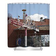 American Visionary Art Museum In Baltimore Shower Curtain