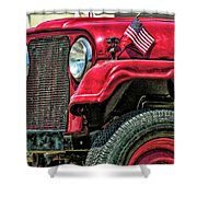 American Willys Shower Curtain