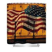 American Workhorse Shower Curtain