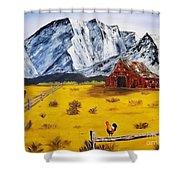 Americana - Plains Of Colorado Shower Curtain