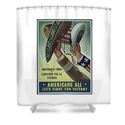 Americans All Shower Curtain