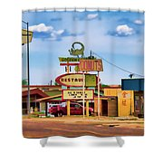 America's Mainstreet Shower Curtain