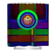 Amerikamura Twilight Shower Curtain