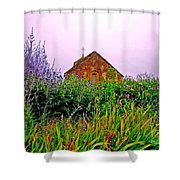 Ameugny 3 Shower Curtain