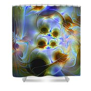 Amiable Catharsis Shower Curtain