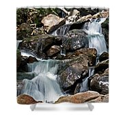 amicalola falls Ga Shower Curtain