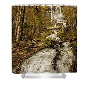 Amicola Falls Gushing Shower Curtain