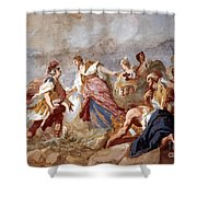 Amigoni: Dido And Aeneas Shower Curtain by Granger