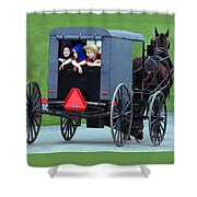 Amish Country Tour Shower Curtain