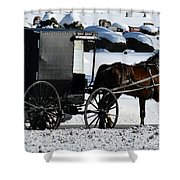 Amish Crossing Shower Curtain