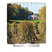 Amish Farm Country Fall Shower Curtain