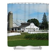 Amish Farm - Lancaster 02 Shower Curtain