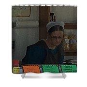 Amish Ice Cream Stand  Shower Curtain