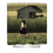 Amish Life Shower Curtain