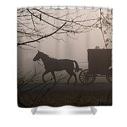 Amish Morning 1 Shower Curtain