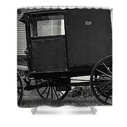 Amish Wagon _pa Shower Curtain