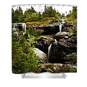 Ammonoosuc Falls Shower Curtain