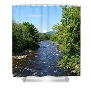 Ammonoosuc River Shower Curtain