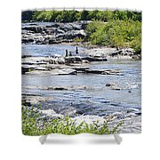 Ammonoosuc Sculptures Shower Curtain