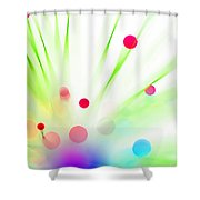 Among The Wildflowers Shower Curtain