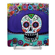 Amor Catrina Shower Curtain